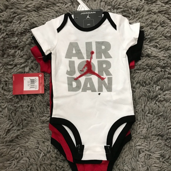 b84bbd256a4 3pc Michael Jordan baby onesies
